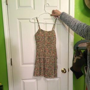 Short, ruffled dress